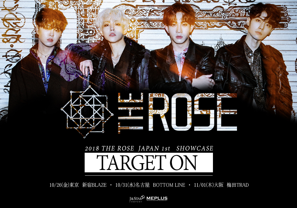 2018 THE ROSE JAPAN 1st SHOWCASE